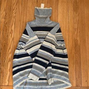 NWT Lou & Grey Striped Blue Sweater, sz XS